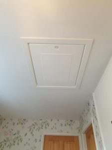 UPVC Loft Hatch installed in Leicestershire