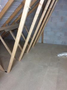 new build loft boarding in Leicester