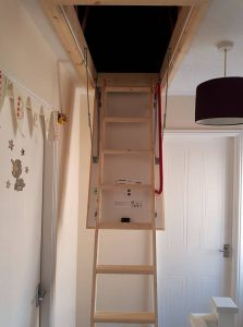 New loft ladder and large hatch