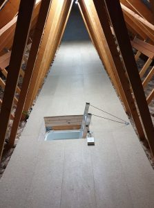 raised loft board installation