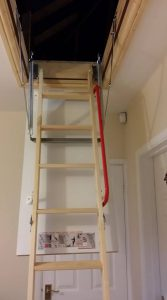 New ltimber loft ladders in Leicester