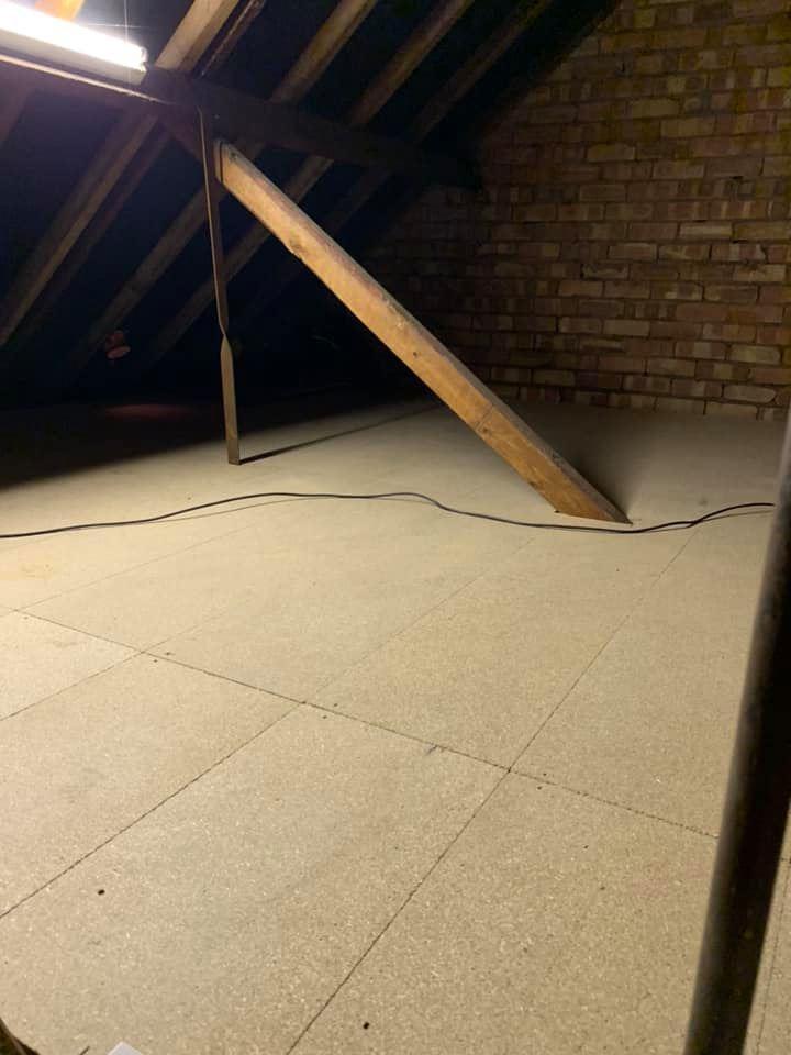 loft after boarding in terrance house